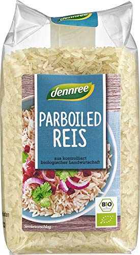 dennree Bio Parboiled Reis (6 x 500 gr)
