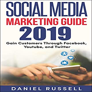 Social Media Marketing Guide 2019 audiobook cover art