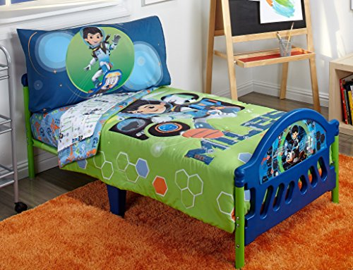 Disney 4 Piece Toddler Bedding Set, Miles From Tomorrow Land by Disney