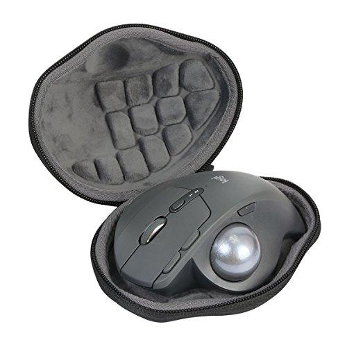 Duro Viaggio Caso Copertina per Logitech MX Ergo Advanced Wireless Trackball Mouse di co2CREA (black)
