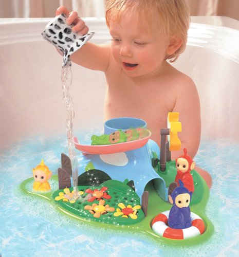 Tomy Teletubbies Bath Island