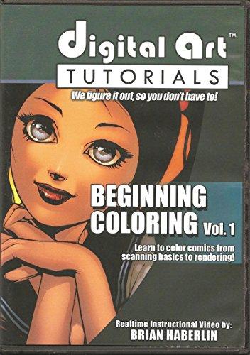 Digital Arts Tutorials Comic Book Style Beginning Coloring...