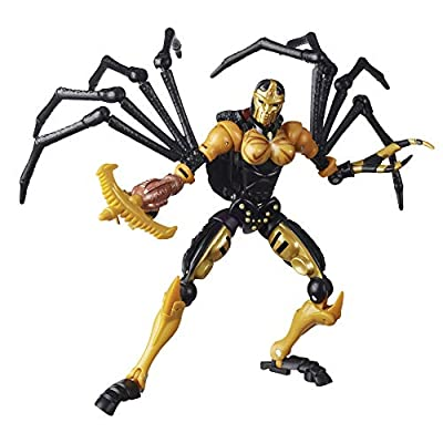 Transformers Toys Generations War for Cybertron: Kingdom Deluxe WFC-K5 Blackarachnia Action Figure - Kids Ages 8 and Up, 5.5-inch from Hasbro