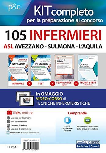 Kit 105 infermieri ASl Avezzano-Sulmona-L'Aquila