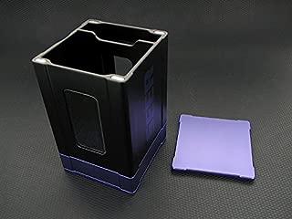 Premium High Strength Magnetic Close Deck Box - Purple Satin Finish