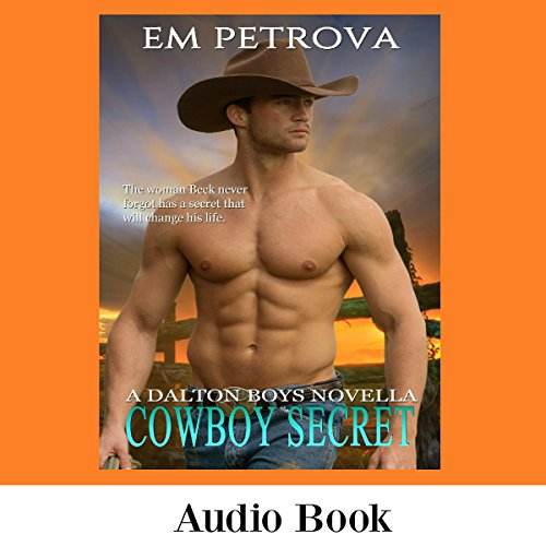 Cowboy Secret audiobook cover art