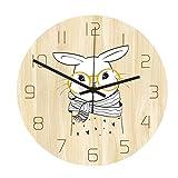 Asffdhley Reloj De Pared Decorativo Reloj De Pared Creativo Reloj De Pared Silencioso Reloj De Pared De Cuarzo para Decoraciones De Oficina En Casa Escuela