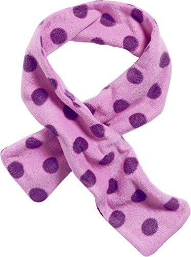 Playshoes Kinder-Unisex Fleece Steckschal Punkte, Oeko Tex Standard 100 Schal, Violett (Flieder 10), One Size