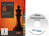 Houdini 6 PRO Chess Playing Software Program Bundled With Chess Masterpieces Ebook