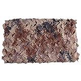 Filet de camouflage Filet for Camouflage Toile D'ombrage Numérique Desert Filets De Protection Solaire Boisement De Montagne Décoration D'intérieur, Plusieurs Tailles Cabane dans les arbres pour enfan