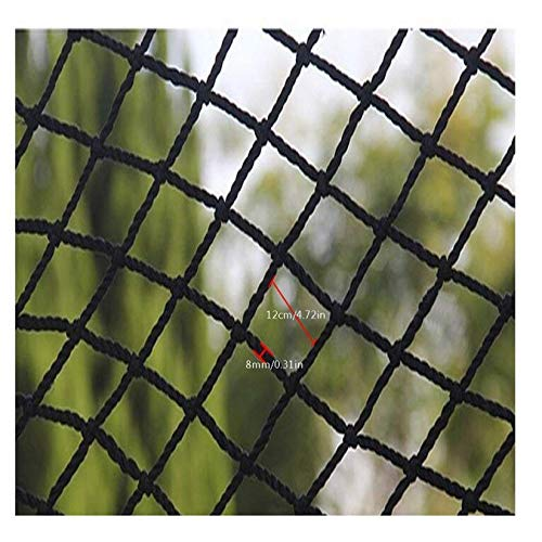 KUANDARGG Red de protección de carga cubierta de coche remolque red protección de seguridad infantil red de aislamiento de mascotas red red de escalada red 1x7m