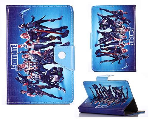 Disney & Fortnite Tab Case 7 7' 8 8' 9.7 9.7' 10.1 Inch Tablet Kids Cover For Boys Girls (Universal 7' (7' Inch), Fortnite)