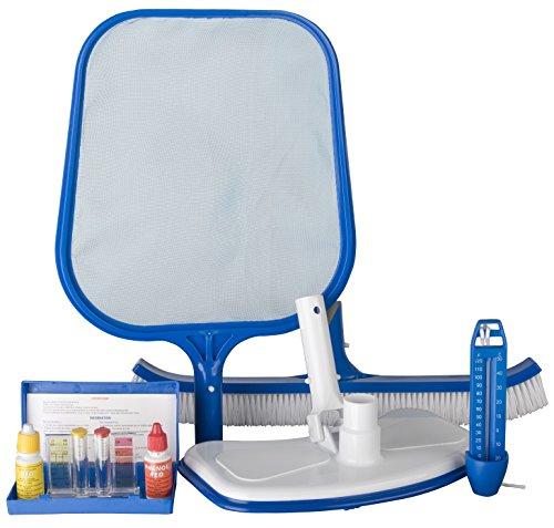 Gre KMA05 - Kit de 5 Artículos para la Limpieza de Piscinas