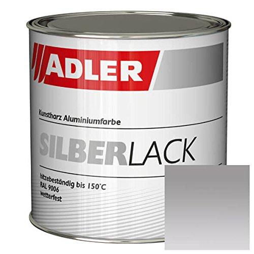 Silberlack 750ml Silber Lack für Holz Metall innen und außen