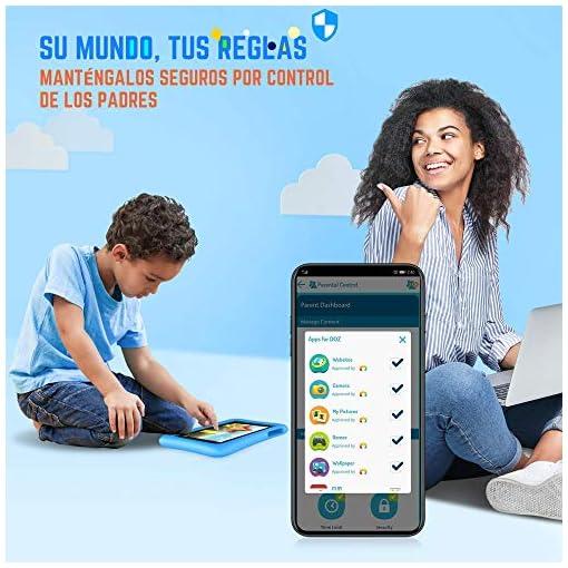 Vankyo Tablet para Niños con Cámaras de 5MP y 2MP, Tablet Infantil con ROM de 32GB, Tablet Niños con WiFi Processore… 6