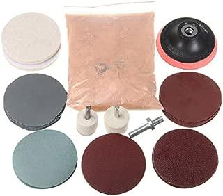 Generic 32pcs Polishing Kit Felt Polishing Pad with Polishing Wheel and 230g Cerium Oxide Powder