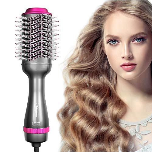 commercial Straightener with hair dryer, Shinyon 3rd generation hairbrush … hot air brush