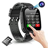 Kids Smart Watch for Boys Girls- Kids Smartwatch Phone with 7 Games Camera Recorder Alarm Music Player Calculator 12/24 hr HD Touch Screen, Children Smart Watch Gifts for Kids Age 4-12