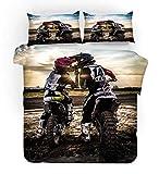Gvvseso® Textiles para el hogar 3D (Cama 150/160-220x240cm) Juego de Ropa de Cama Juegos de Funda...