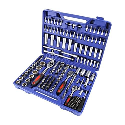 Auto Herramienta de mano Conjuntos de herramientas de reparación de automóviles Conjunto de herramientas mecánicas Caja de herramientas para el hogar Kit de destornillador de trinquete conjuntivo de z