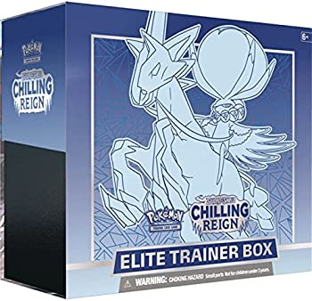 Pokemon TCG: SAS6 Chilling Reign Ice Elite Trainer Box