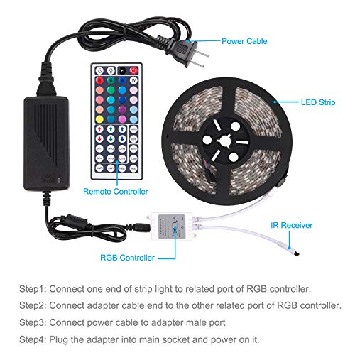 Sunnest Waterproof Multi-Color Lights