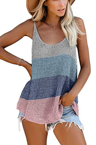 SMENG - Camisas de corte holgado para mujer, cuello redondo, blusas y blusas