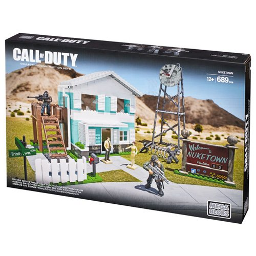 Mega Bloks Call of Duty - Set de Juego, Nuketown (Mattel CYR73)