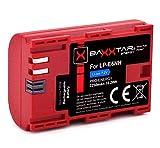 Baxxtar Pro Batería LP-E6NH (2250 mAh) también compatible con Canon R5 R6.