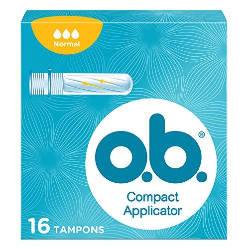 OB Compact tampón con aplicador normal caja 16 uds