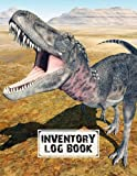 """Inventory Log Book: inventory list notebook Dinosaur Tarbosaurus Cover, Large Inventory Log Book - 120 Pages, Size 8.5"""" x 11"""" for Business and Home by Irma Reimann"""