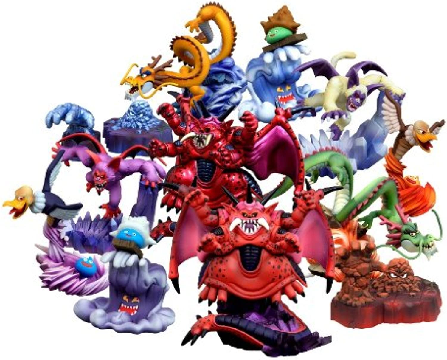 Dragon Quest Monster Gallery HD4 9 pieces (japan import)