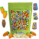Happy Easter Chocolate Variety Pack, Smooth & Creamy Milk Chocolate Party Bag Fillers, Individually Wrapped in Easter Shapes & Design Foils, Kosher Certified Dairy (1 Pound)