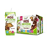 Orgain Organic Kids Protein Nutritional Shake, Chocolate - Great for Breakfast & Snacks, 21 Vitamins...