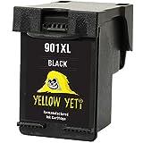 Yellow Yeti Ersatz für HP 901XL 901 XL Druckerpatrone Schwarz kompatibel für HP OfficeJet 4500 G510a G510g G510n J4500 J4524 J4535 J4540 J4550 J4580 J4585 J4600 J4624 J4640 J4660 J4680 J4680c