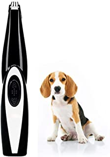 Dog Nail Clippers And Trimmer, Professional Dog Paw Cleaner - Pet Dog Hair Trimmer Shaver, USB Rechargeable & Low Noise, M...