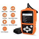XCHUNA OBD2 Auto-Diagnosescanner, OBD2 / EOBD prüft Auto Störungscode-Leser-Diagnosewerkzeug, Auto-Codeleser Auto-Codeleser-Scan-Werkzeug