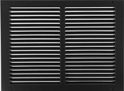 """14""""w X 10""""h Steel Return Air Grilles - Sidewall and Ceiling - HVAC Duct Cover - [Outer Dimensions: 15.75""""w X 11.75""""h]"""