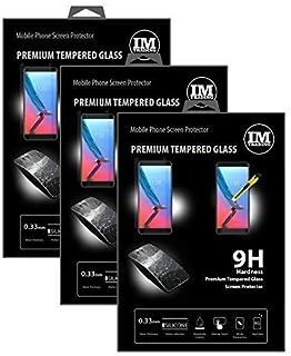 cofi1453 3x skydd glas 9H härdat glas skärmskydd folie display glas krämskydd för ZTE Blade V9