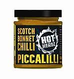 Hot-Headz Scotch Chile Piccalilli - Pack de 2 unidades, 185 ml