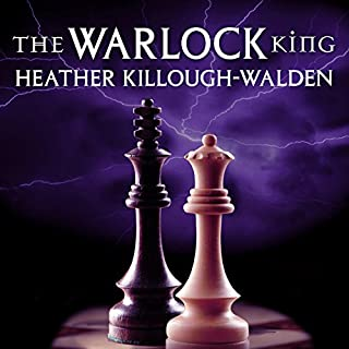 The Warlock King audiobook cover art