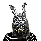 thematys® Donnie Darko Frank The Rabbit Horror Maske - perfekt für Fasching, Karneval & Halloween - Kostüm für Erwachsene - Latex, Unisex Einheitsgröße