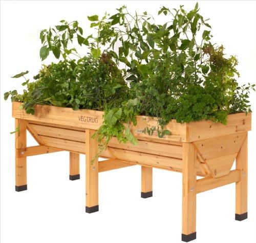 DEMA VegTrug Holz - Hochbeet 180 cm