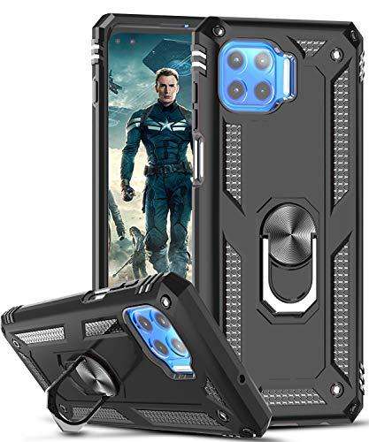 LeYi Funda Motorola Moto G Plus 5G,Armor Carcasa con 360 Grados Anillo...