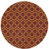 NiYoung Best Play Mat Carpet for Kids Room Decorations & Teepee Tent The Shining Overlook Hotelr Area Rug Non-Slip Round Mat for Bedroom Living Room Kitchen Nursery and More