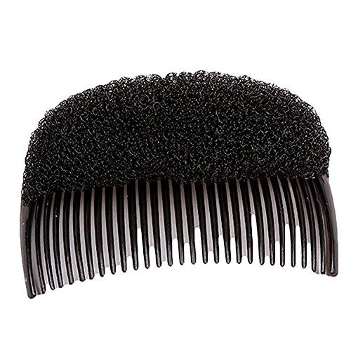 Haarstyling-Einsatz für Damen und Mädchen, Haar-Styler, Clip, Dutt, Zöpfe, Haarzubehör, Schwarz, 2 Stück