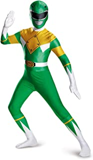 Men's Green Ranger Bodysuit Costume Teen