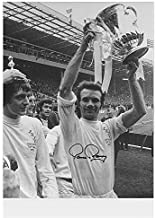 Paul Reaney Signed Leeds United Photo - 1972 Cup Final Autograph - Autographed Soccer Photos