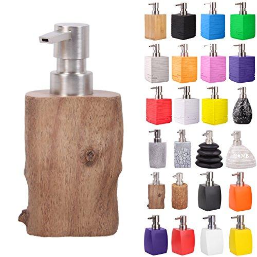 Seifenspender | viele schöne Seifenspender zur Auswahl | modernes, stylisches Design | Blickfang für jedes Badezimmer (Old Tree)