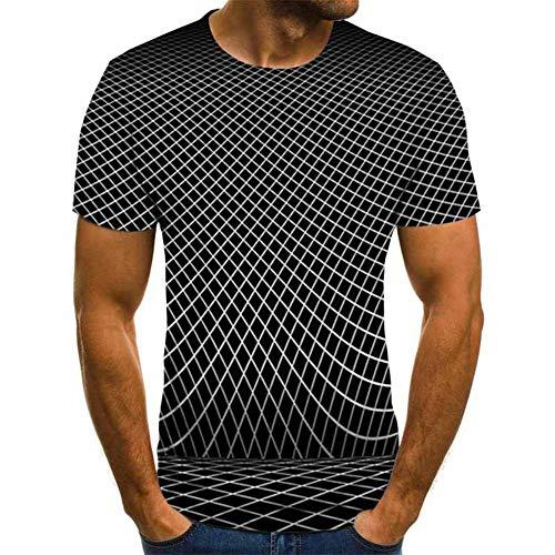 SSBZYES Camisetas para Hombre Camisetas De Manga Corta para Hombre Camiseta Holgada De Verano De Manga Corta Transpirable para Hombre Camiseta Estampada En 3D Camiseta Estampada De Moda Top De Moda